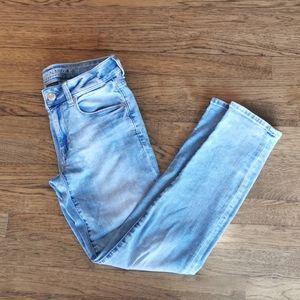 American Eagle Faded Super Stretch Skinny Jeans 2